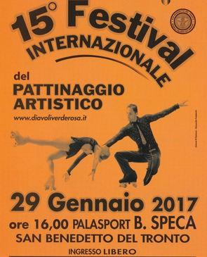 San Benedetto, oltre 300 atleti alla quindicesima edizione del Festival del Pattinaggio Artistico a Rotelle. Grande speccatolo al PalaSpeca.